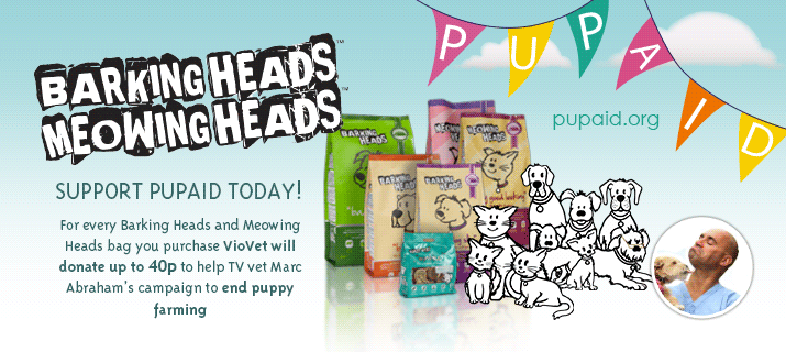 Barking Heads and Meowing Heads with PupAid!