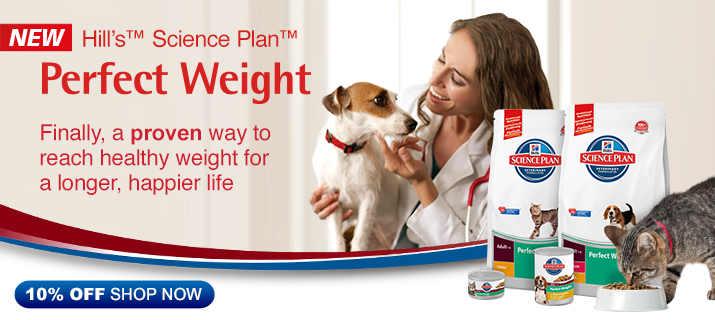New! Hills Science Plan Ideal Weight