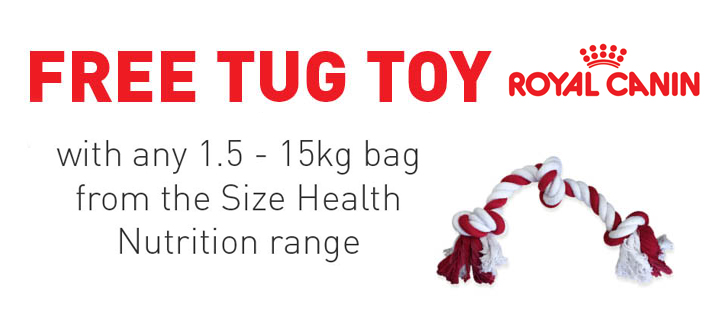 Free Royal Canin Tug Toy