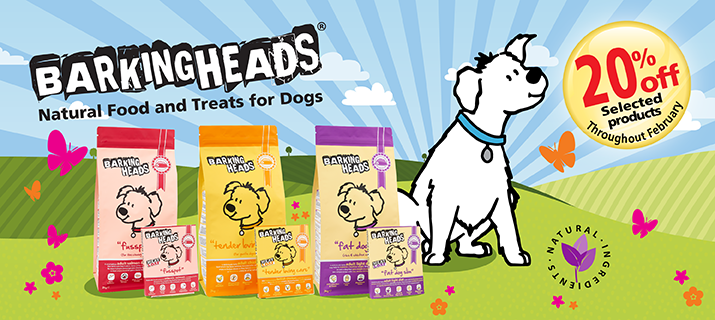 Barking heads - 20% off RRP