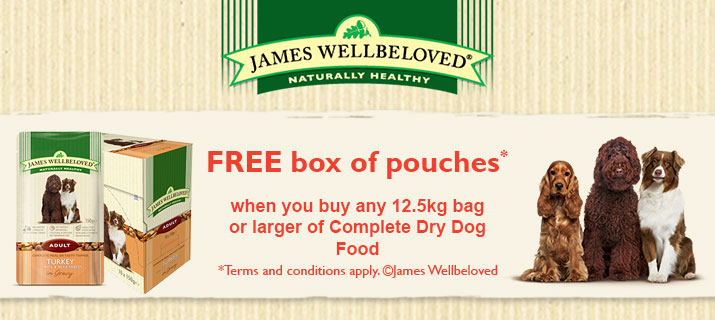 James Wellbeloved Free Wet Food Pouches