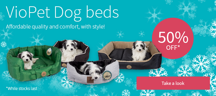 VioPet Dog beds - 50% off
