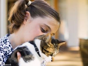 Households with pets have happier children