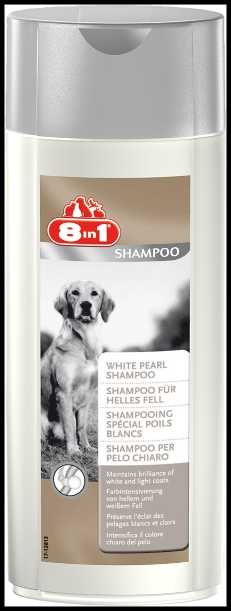 8 in 1 White Pearl Shampoo