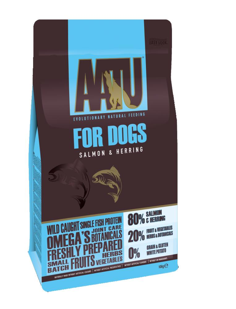 AATU 80/20 Salmon & Herring Dog Food