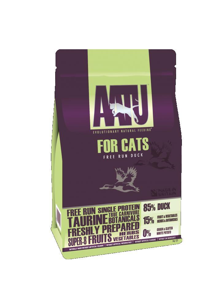 Aatu Cat Food Duck