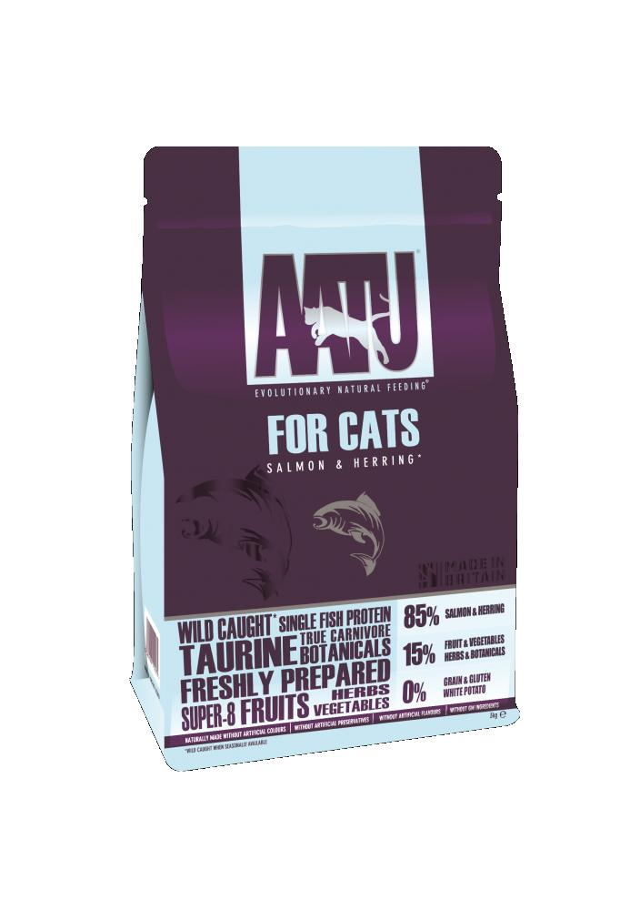 AATU CAT 85/15 Salmon & Herring Cat Food