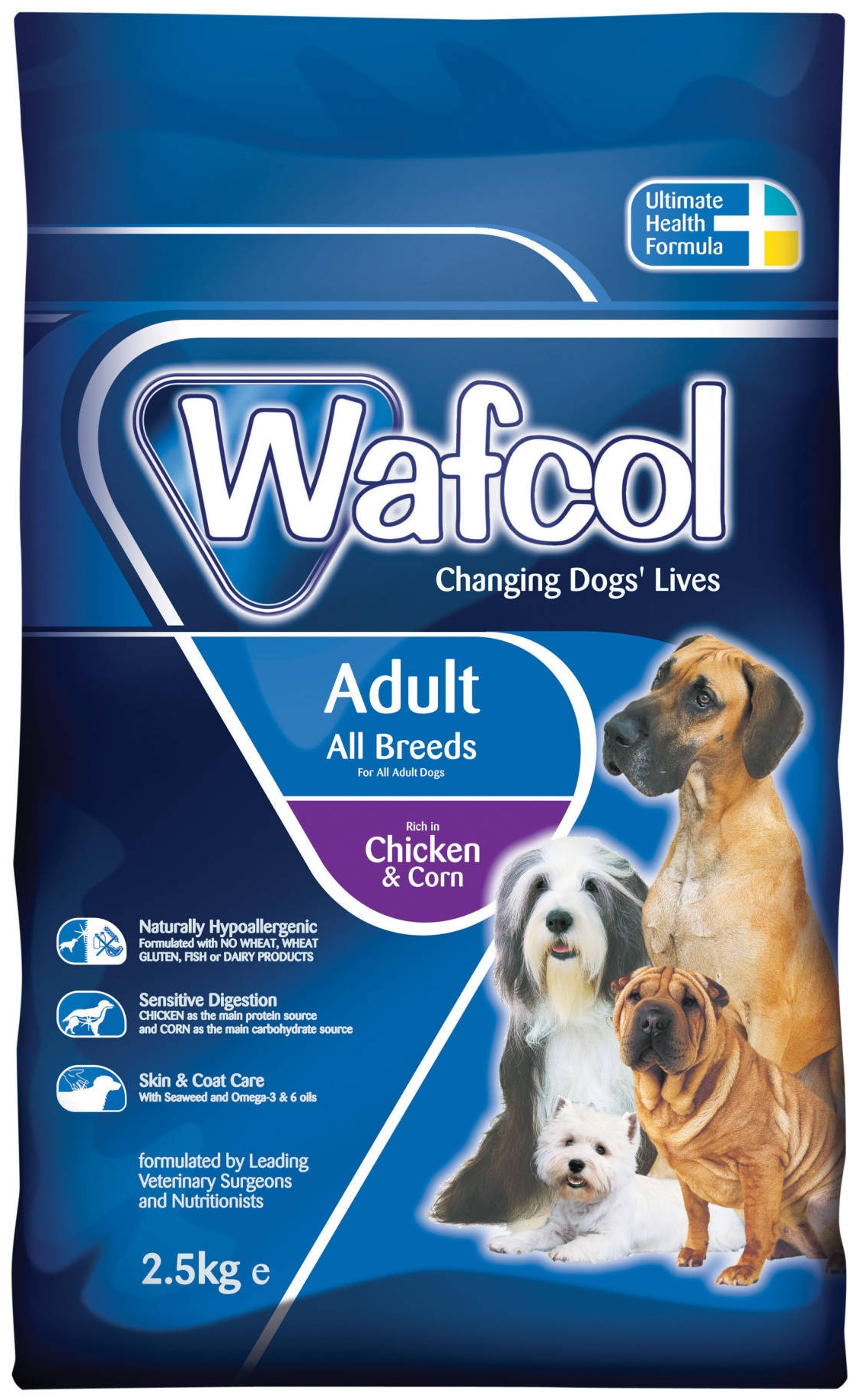 Adult dog food premium
