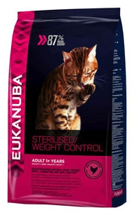 Eukanuba Adult Sterilised / Weight Control Cat Food