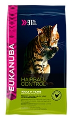 Eukanuba Adult Hairball Control Cat Food