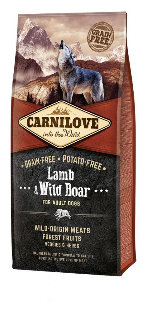 Carnilove Lamb & Wild Boar for Adult Dog Food