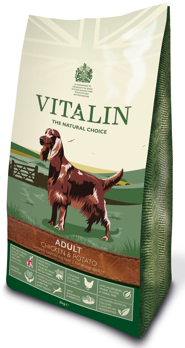 Vitalin Adult Chicken & Potato Dog Food