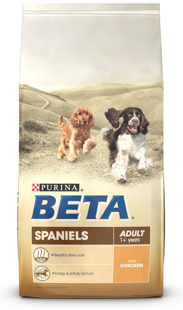 PURINA BETA Breed Specific Adult Spaniels Dog Food