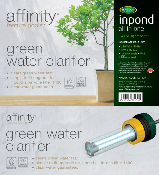 Affinity Pools Inpond UV Clarifier