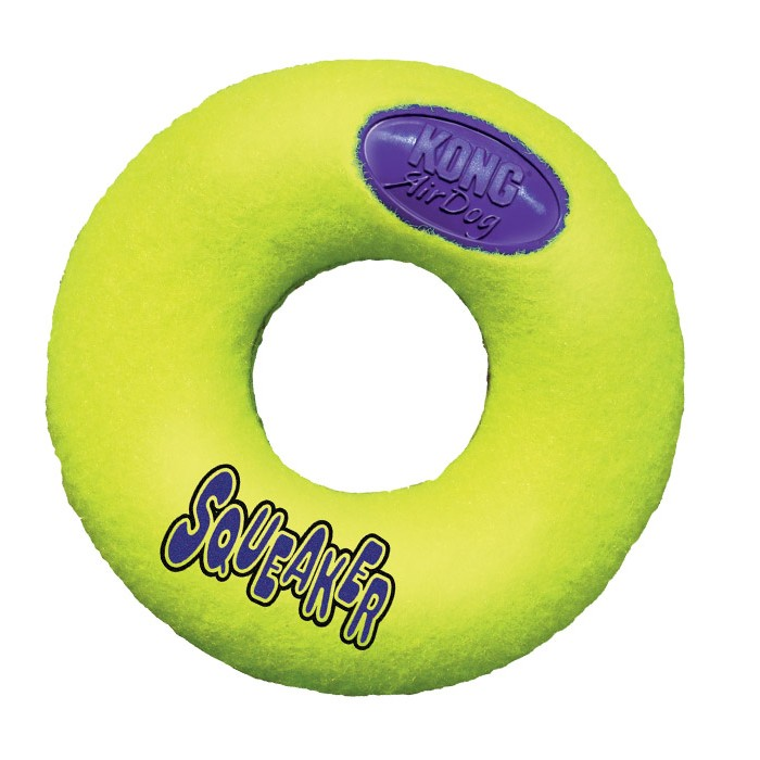Kong AirDog Donut Squeaker Dog Toy