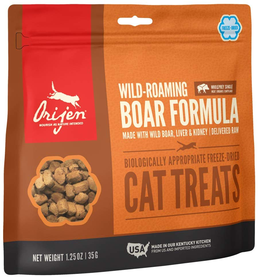 Orijen Wild-Roaming Boar Freeze Dried Cat Treats