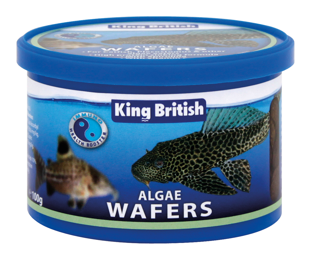 King british algae wafers aquarium fish food for Freshwater fish food
