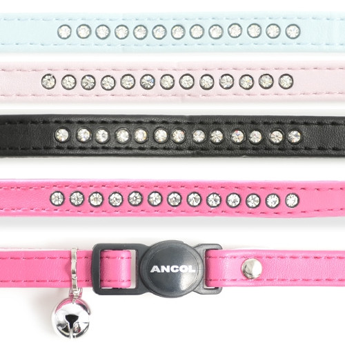 Ancol Deluxe Jewel Safety Buckle Cat Collar