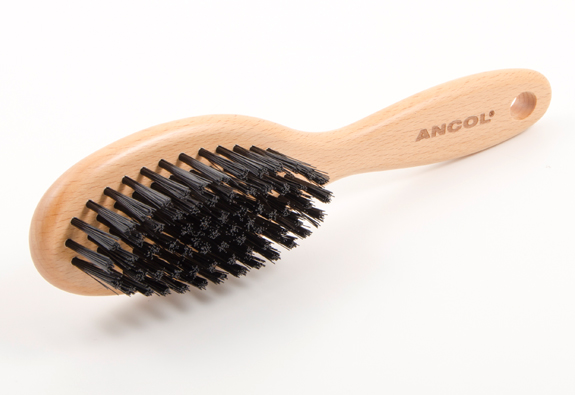 Ancol Heritage Wood Handle Soft Bristle Brush