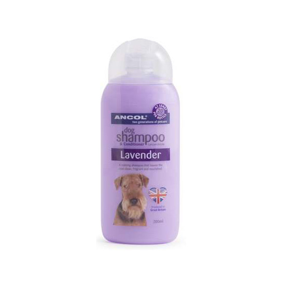 Ancol Lavender Calming Shampoo for Dogs