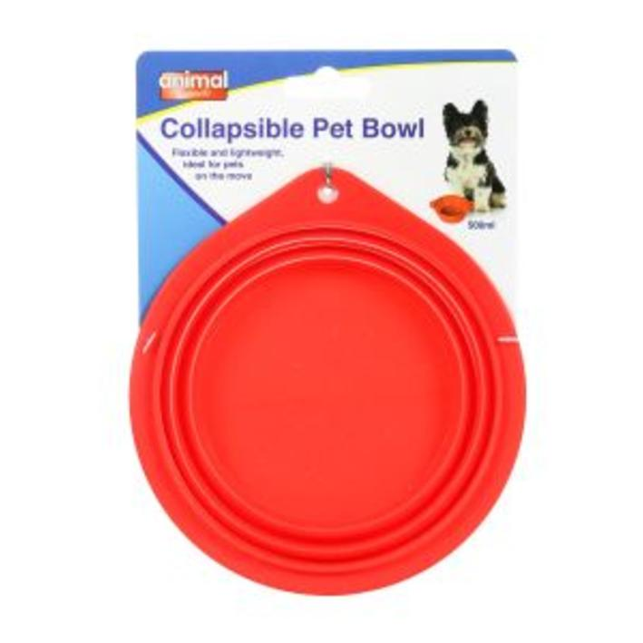 Animal Instincts Collapsible Travel Bowl