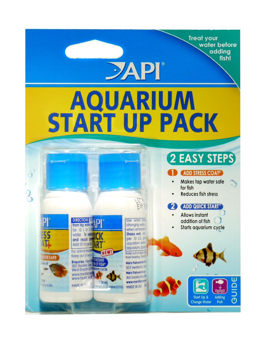 Api aquarium start up to convert poisonous compounds in aquariums - Api up ...