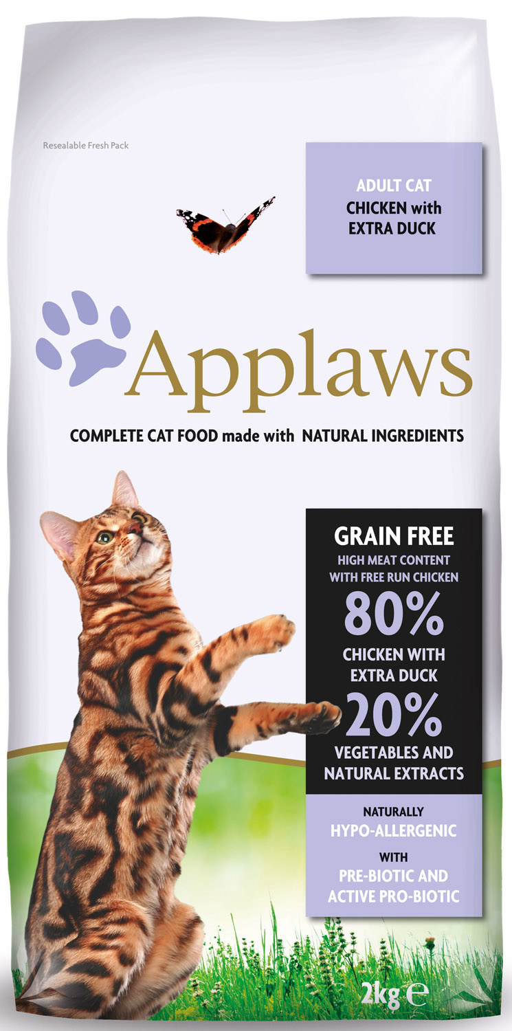 Applaws Natural Chicken & Extra Duck Dry Cat Food