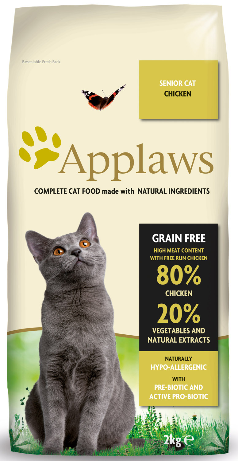 Applaws Natural Senior Chicken Dry Cat Food