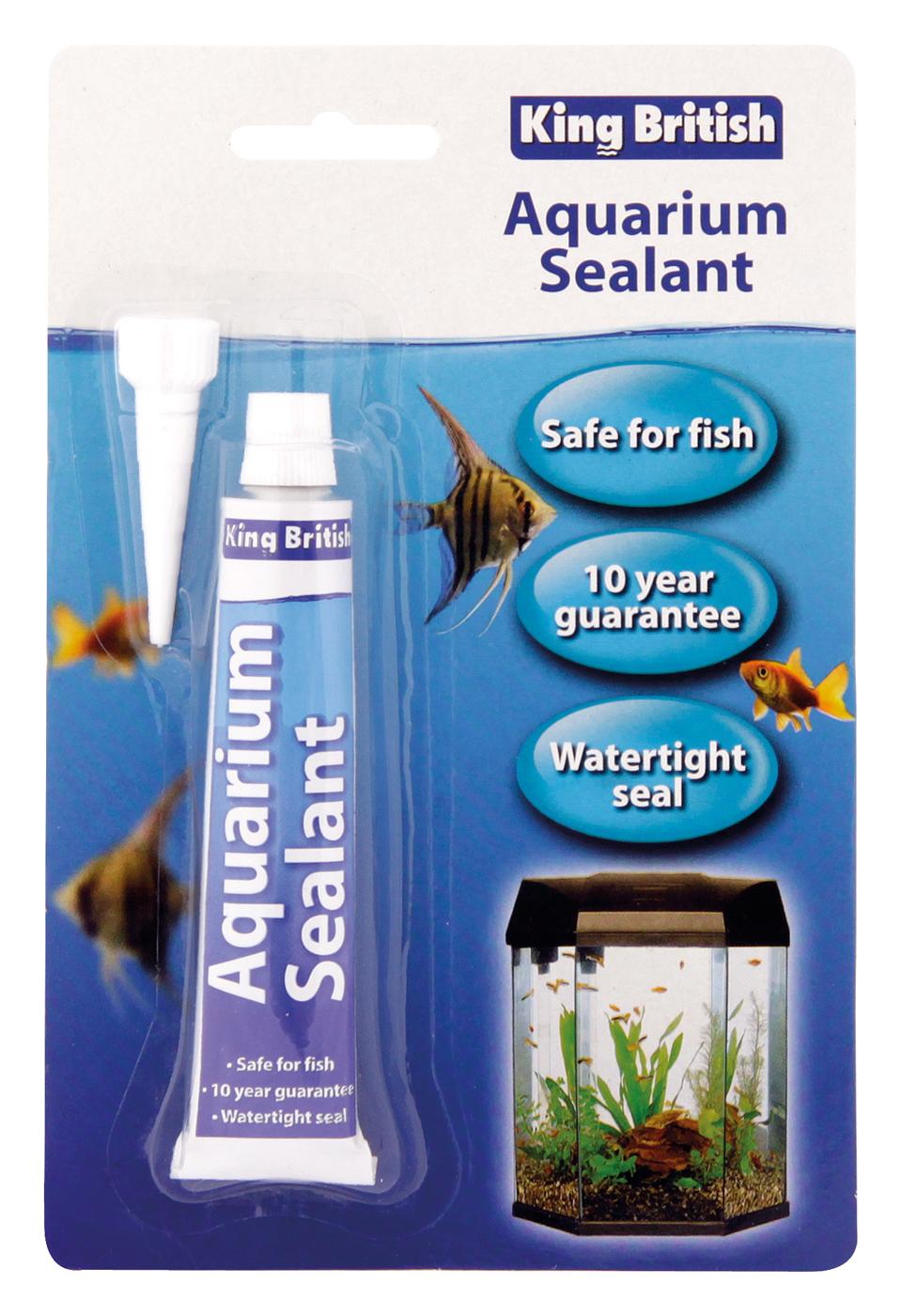 King British Aquarium Sealer Sealant