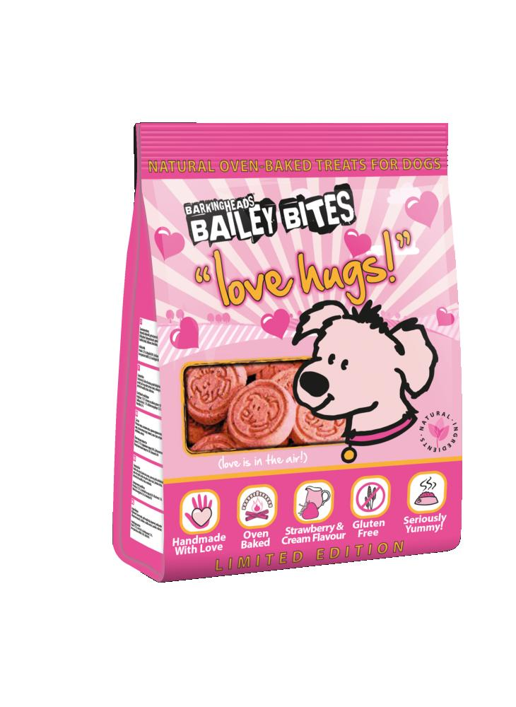 Barking Heads Bailey Bites Love Hugs Dog Treats