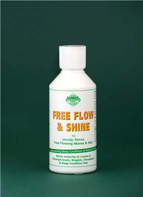 Barrier Free Flow and Shine for Horses