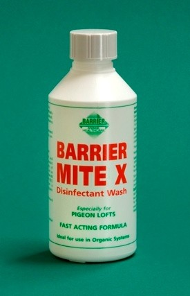 Barrier Mite X for Pigeons