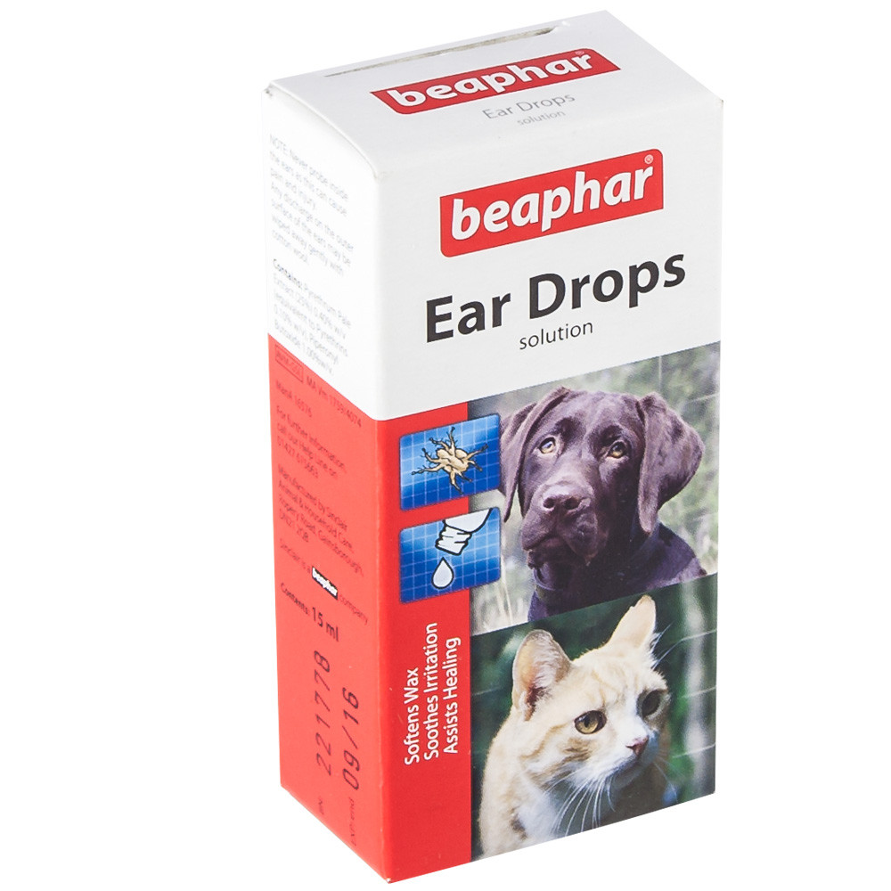 Ear Drops For 🐱 Cats And 🐶 Dogs