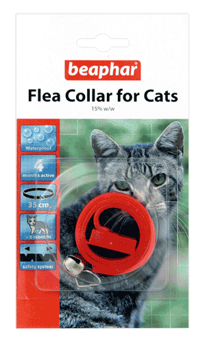 Beaphar Plastic Flea Collar for Cats