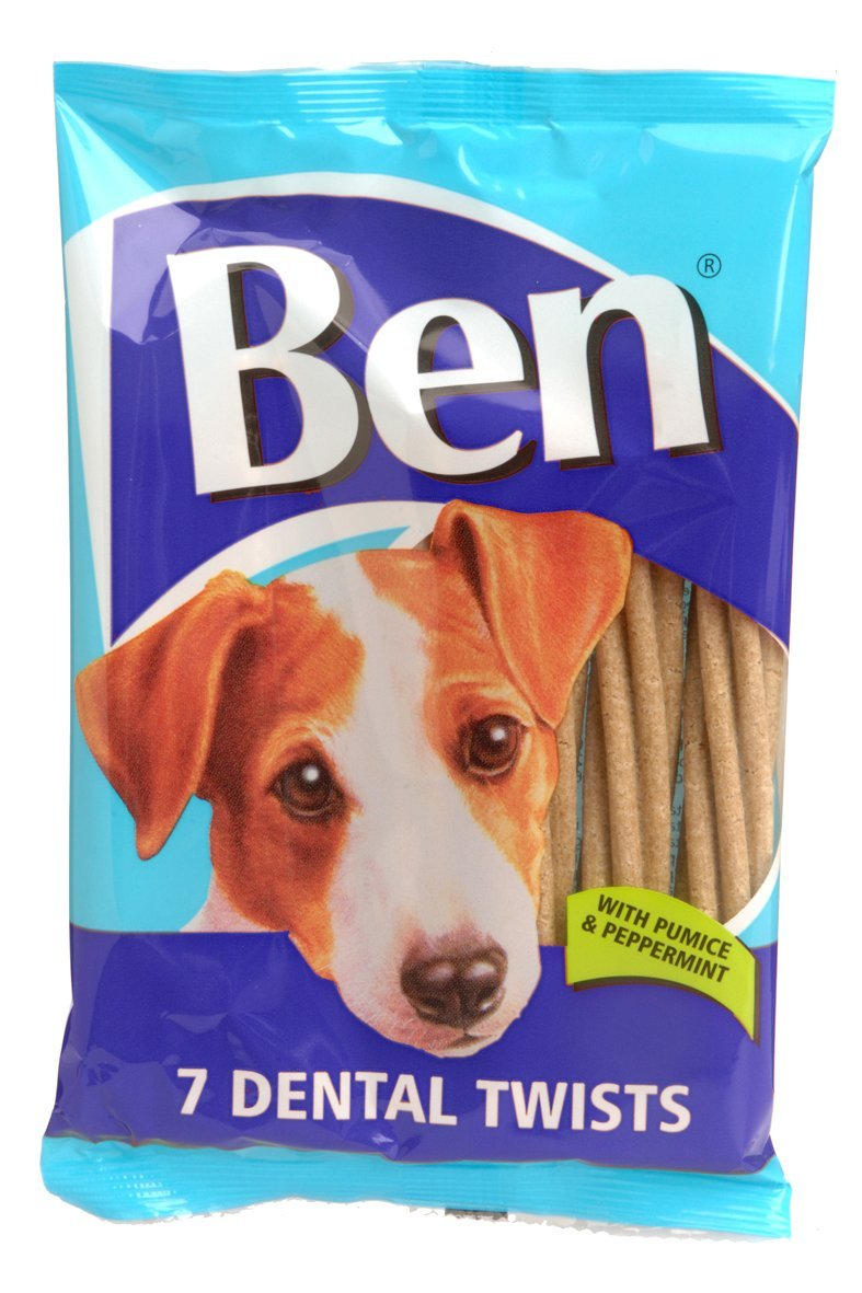 Ben Dental Twists Dog Chews