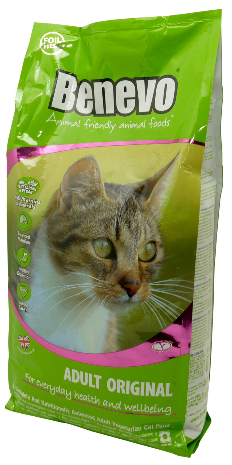 Benevo original complete cat food for Cuisines completes