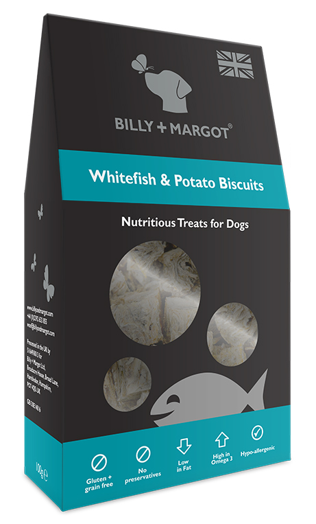 Billy & Margot White Fish and Potato Biscuits