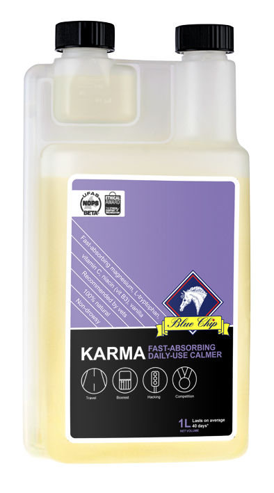 Blue Chip Karma for Horses