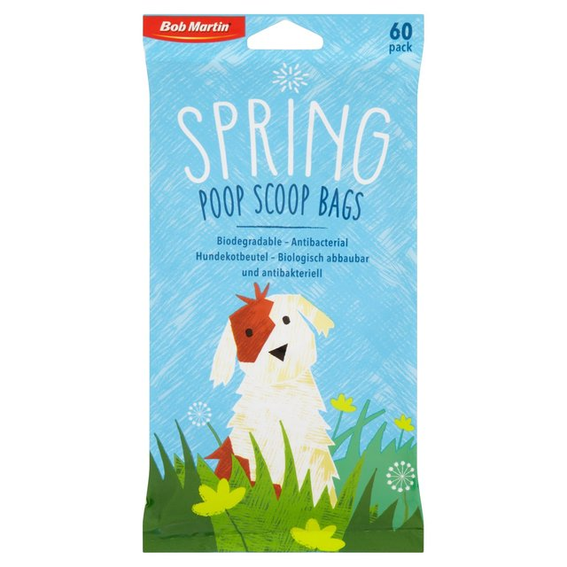 Bob Martin Biodegradable Spring Poop Scoop Bags
