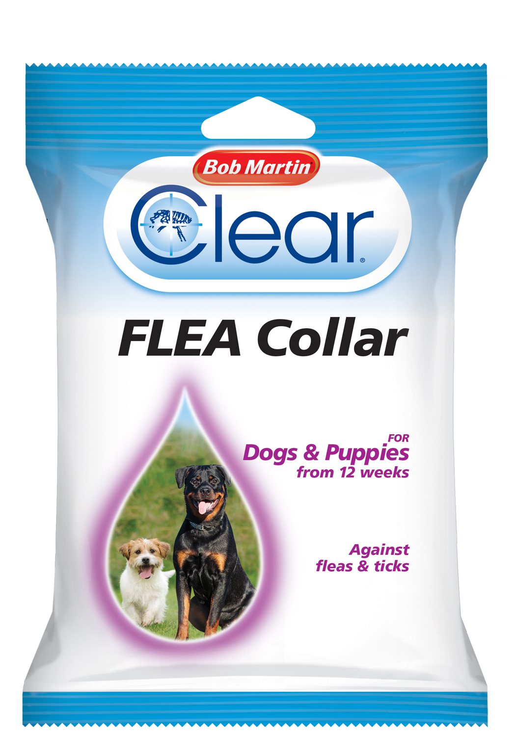 Bob Martin Clear Flea Collar for Dogs