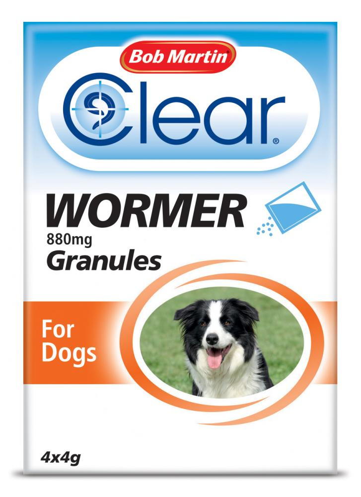 Bob Martin Clear Wormer Granules for Dogs & Cats