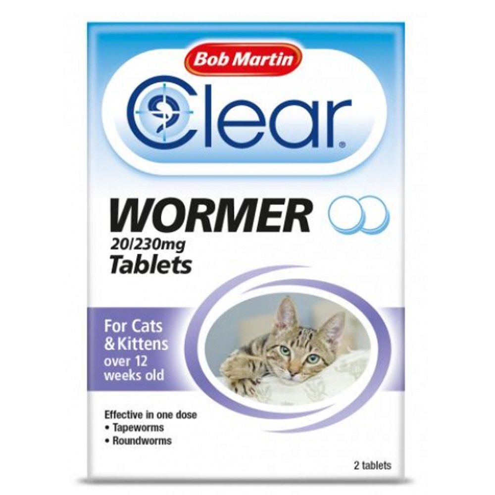 Bob Martin Clear Wormer for Cats