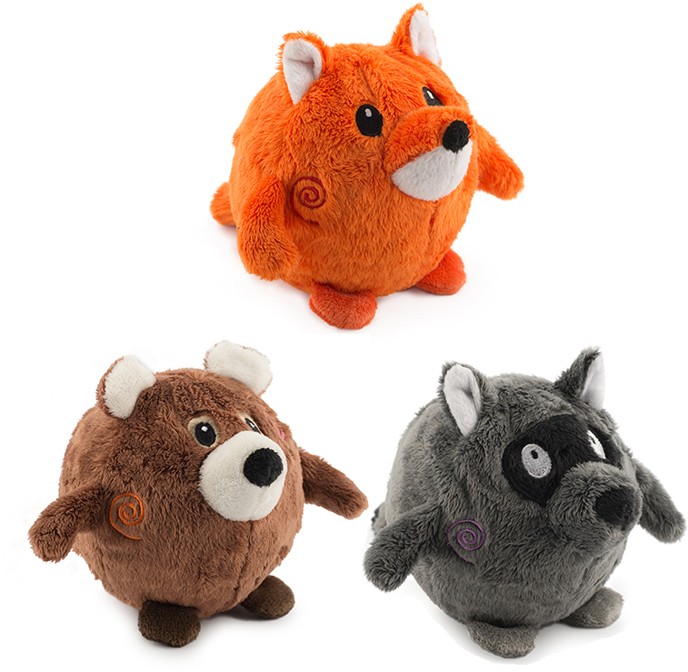 Bouncing Woodland Friends Toys
