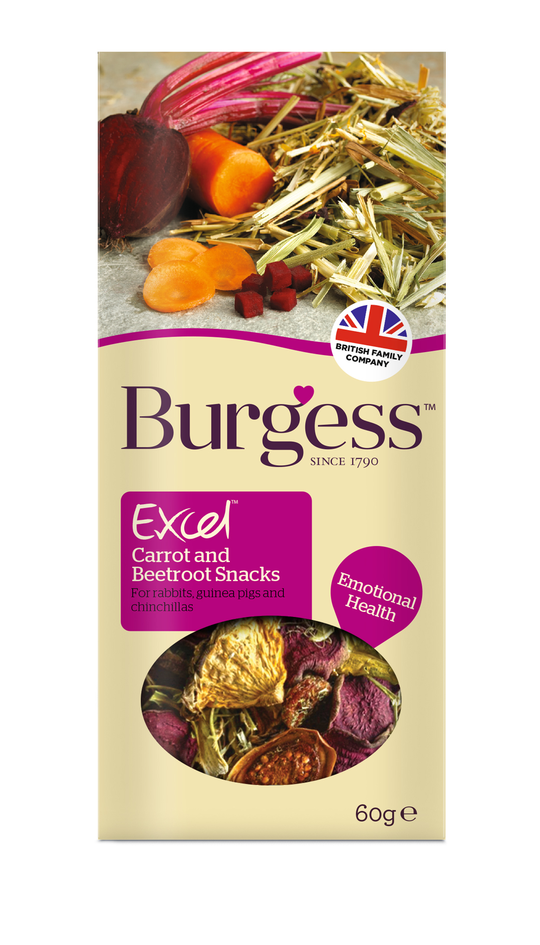Burgess Excel Salad Snacks for Small Animals