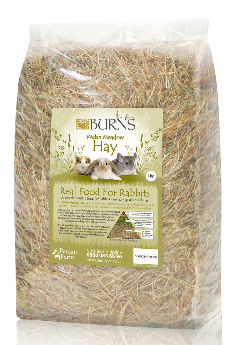Burns Welsh Meadow Hay for Small Animals