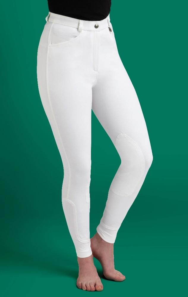 Caldene Aintree Mid Waist Self Fabric Knee Ladies Breeches