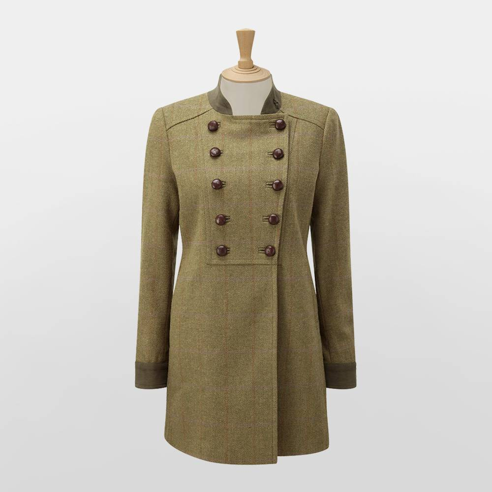 Caldene Rosedene Military Tweed Jacket