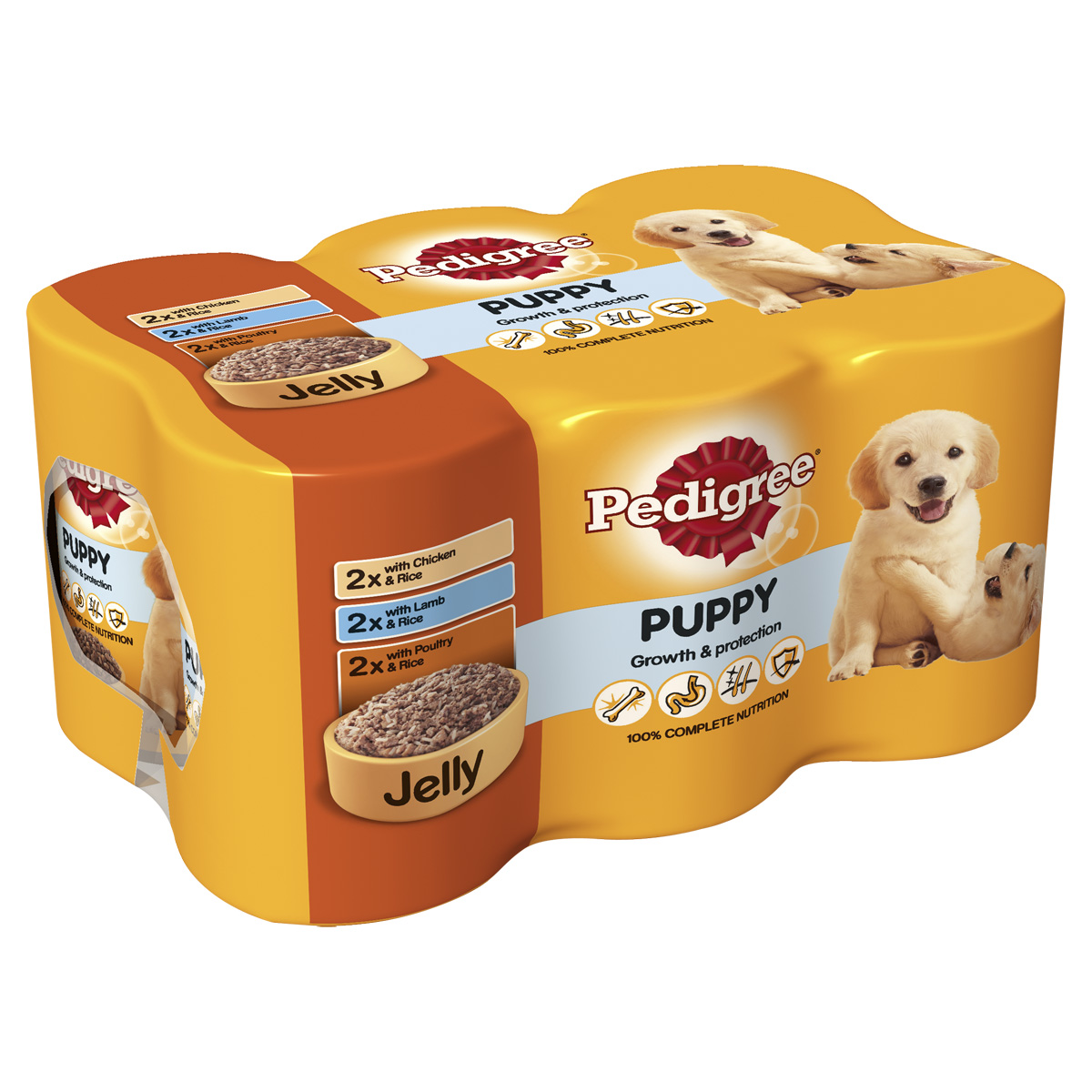 Pedigree Growth & Protection Puppy Food