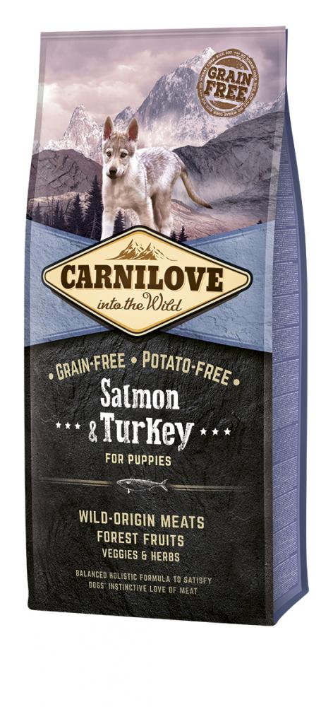 Carnilove Salmon & Turkey Puppy Food