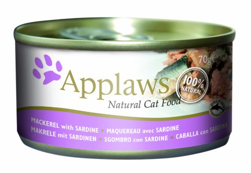 Applaws Natural Mackerel with Sardine Cat Food